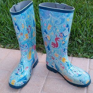 Shoes - * Nomad Rain Boots *Puddles* Cats & Dogs*